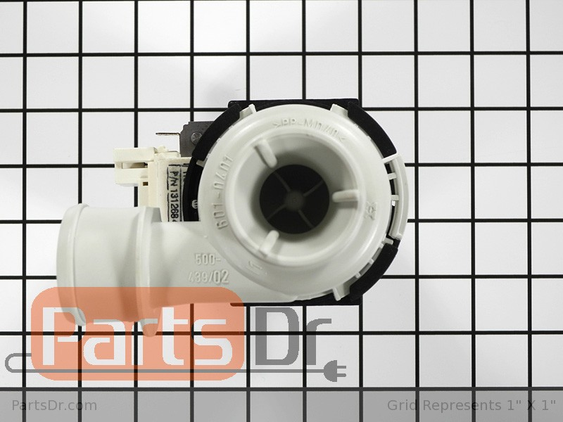 131268401 frigidaire drain pump motor parts dr for How to test a washer drain pump motor