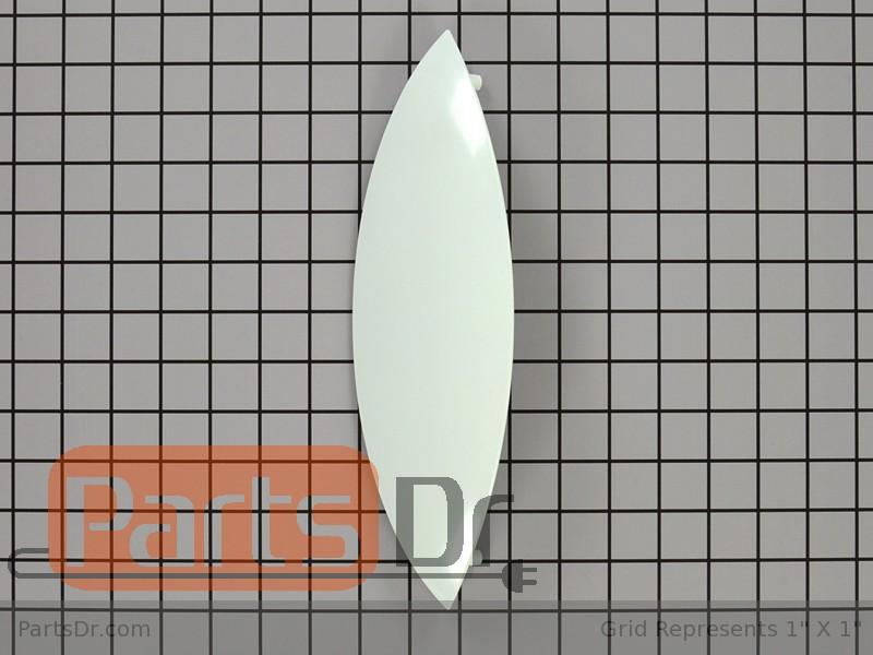 134412600 Kenmore Washer Door Handle White Parts Dr