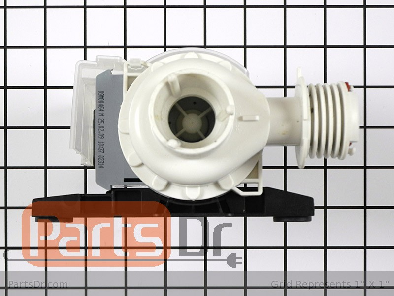 137108000 frigidaire washer drain pump assembly parts dr for How to test a washer drain pump motor