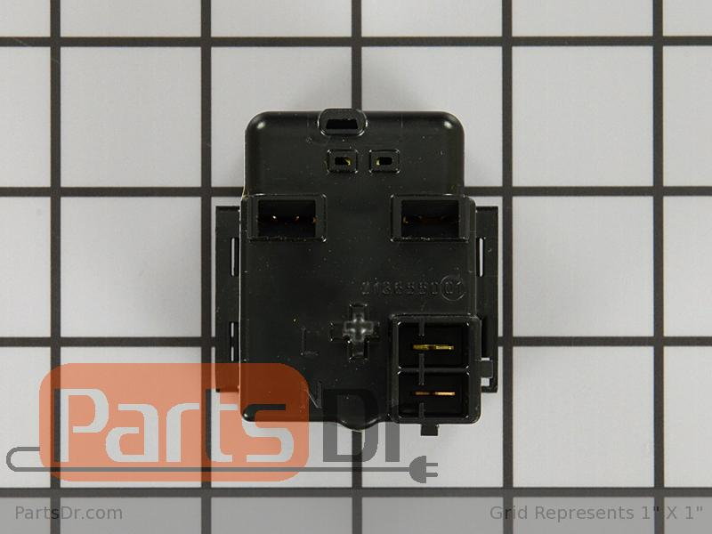 Wp whirlpool refrigerator start device parts dr