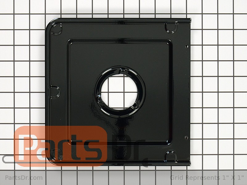 316011415 Frigidaire Gas Range Burner Drip Pan Black