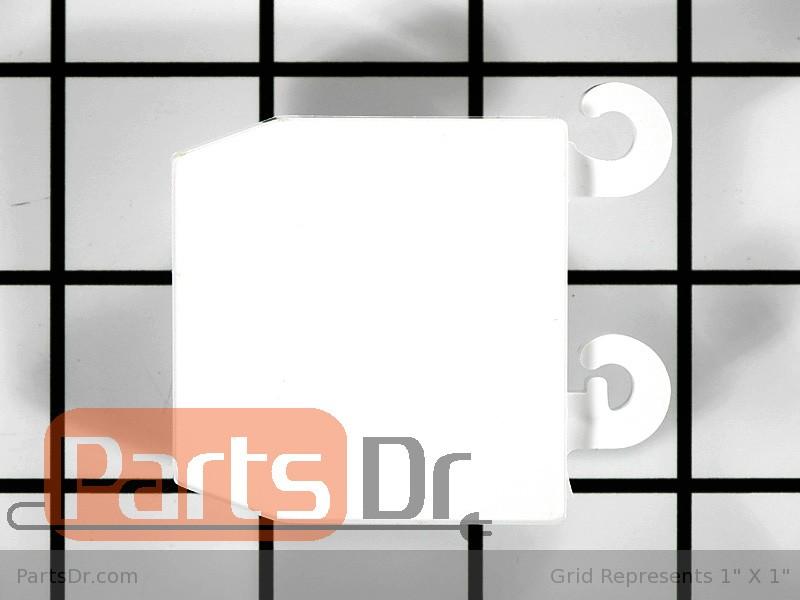 5303324302 frigidaire door shelf support lh parts dr. Black Bedroom Furniture Sets. Home Design Ideas