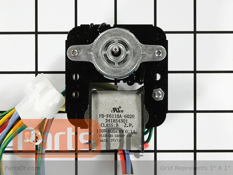 Refrigerator parts evaporator fan motor kit for Frigidaire refrigerator evaporator fan motor 5303918549