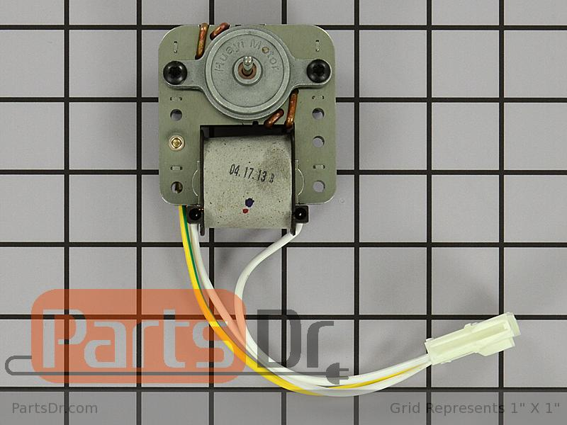 5304442620 frigidaire evaporator fan motor kit parts dr for How to test refrigerator evaporator fan motor