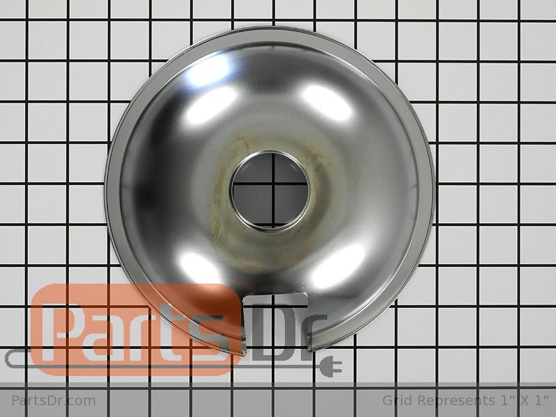 715878 Whirlpool Range 8 Inch Burner Drip Pan Parts Dr