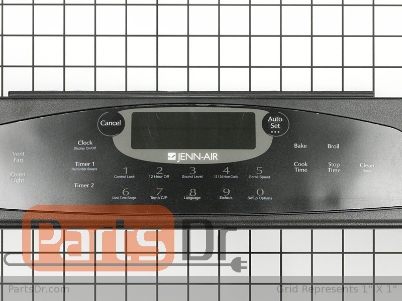 Cooktop Parts Diagram And Parts List For Jennair Rangeparts Model