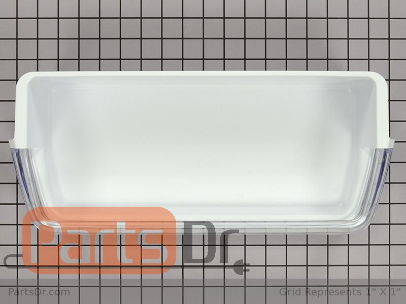 da97 06177c samsung upper door shelf bin parts dr. Black Bedroom Furniture Sets. Home Design Ideas
