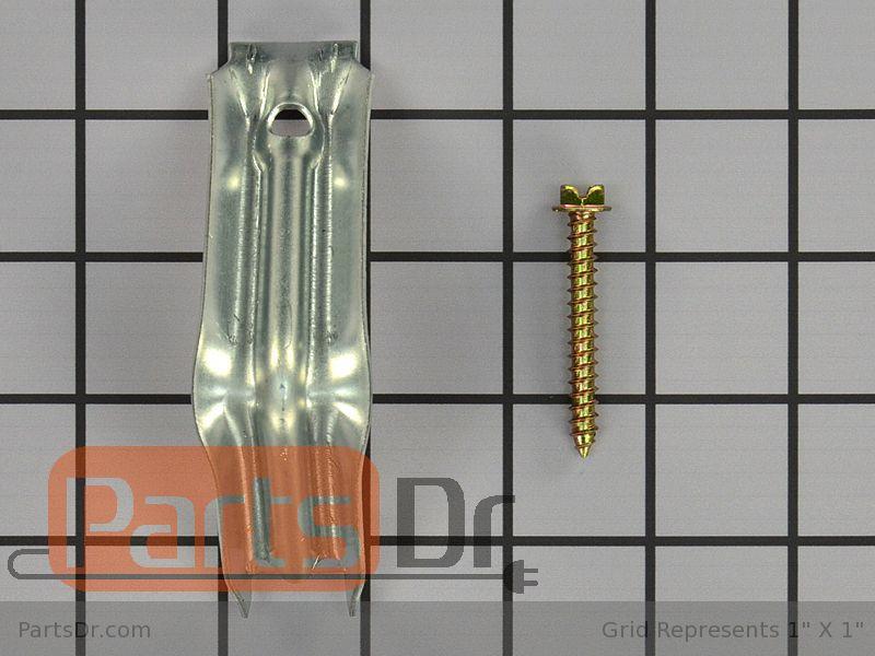 Wb2k20 Ge Range Anti Tip Bracket Kit Parts Dr