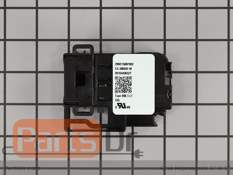 Wh01x26114 Ge Lid Lock Quick Release Parts Dr