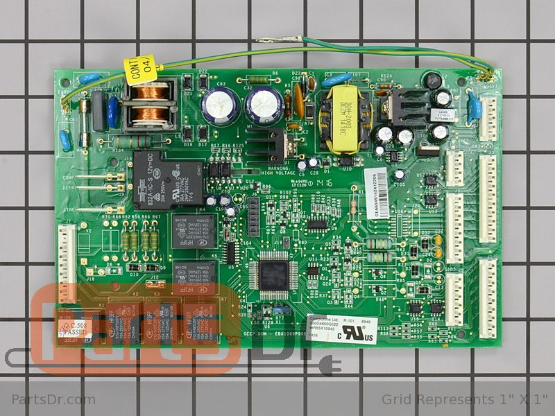 how to install ge wr55x10942 main control board ge refrigerator main control board wr55x10942