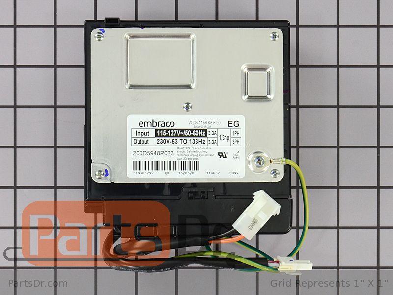 Ge Refrigerator Circuit Board Parts Parts Dr