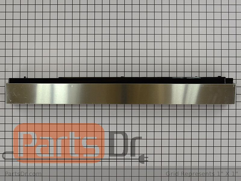 Lg Dryer Repair >> AEB49577101 - LG Vent Grille (Stainless) | Parts Dr