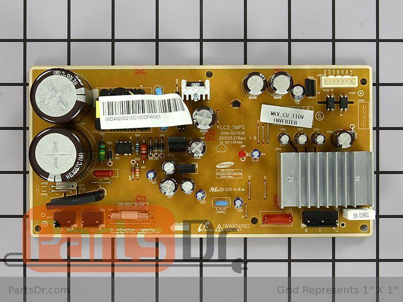 Da92 00215c Samsung Inverter Control Board Parts Dr