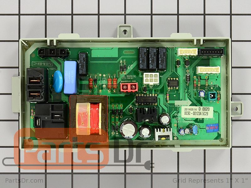 Dc92 00123a Samsung Dryer Main Control Board Parts Dr