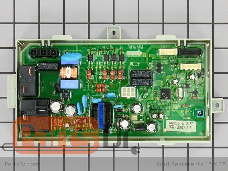 Dc92 00322e Samsung Main Control Board Parts Dr
