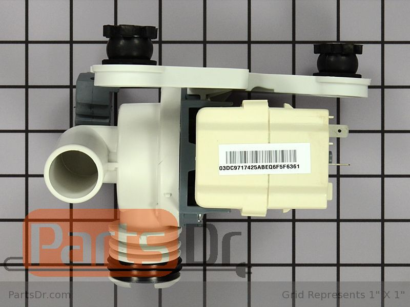 Dc98 01877a Samsung Drain Pump Kit Parts Dr