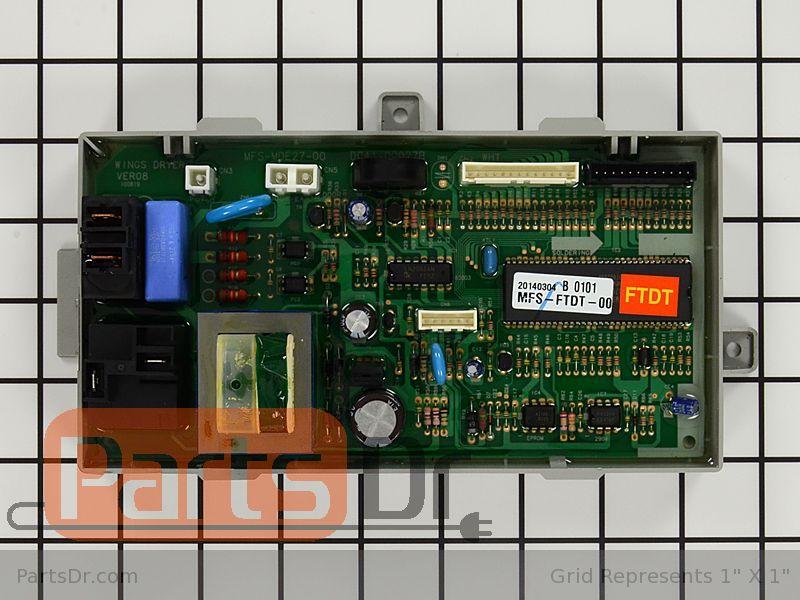 Mfs Ftdt 00 Samsung Main Control Board Parts Dr
