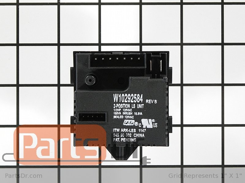 pressure sensor switch washing machine