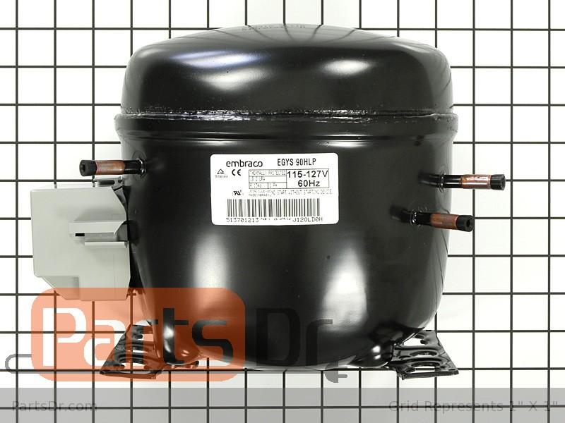 W10309994 Whirlpool Refrigerator Compressor Kit Parts Dr