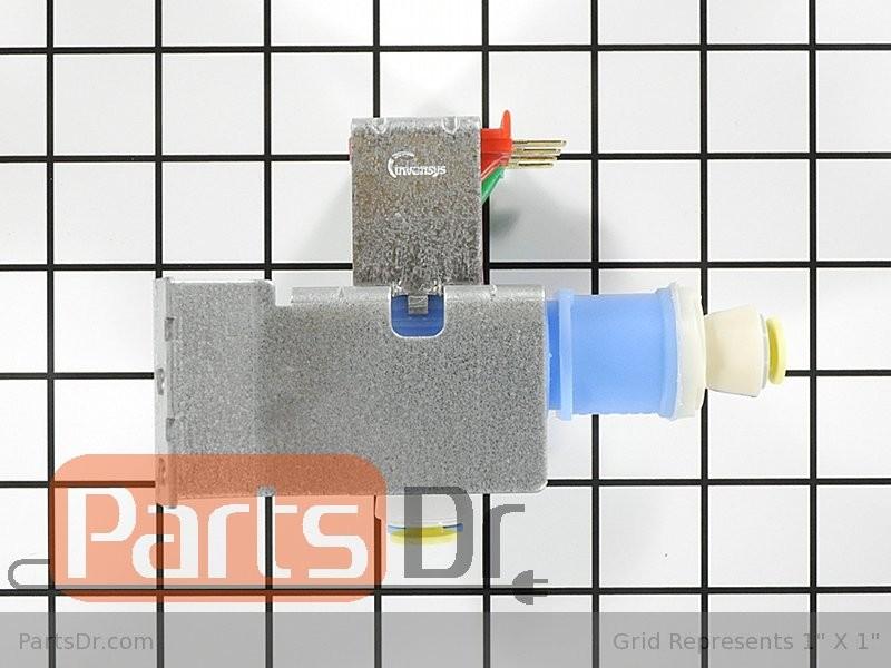 Refrigerator Water Inlet Valve W10408179