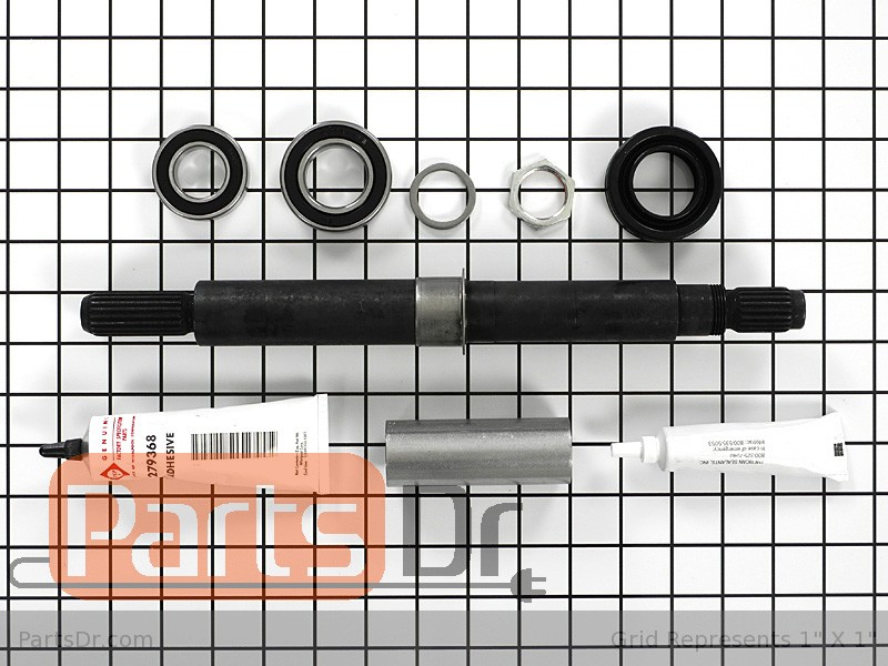 W10193886 Whirlpool Outer Tub Assembly Parts Dr