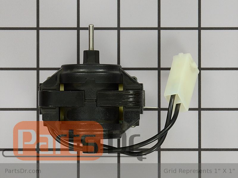 Wp2320109 whirlpool evaporator fan motor parts dr for How to test refrigerator evaporator fan motor