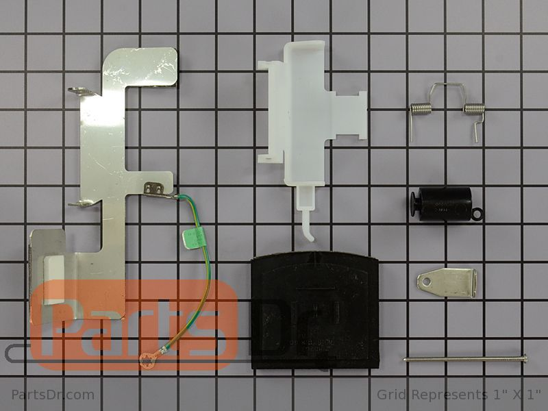 W10823377 Whirlpool Refrigerator Ice Door Kit Parts Dr