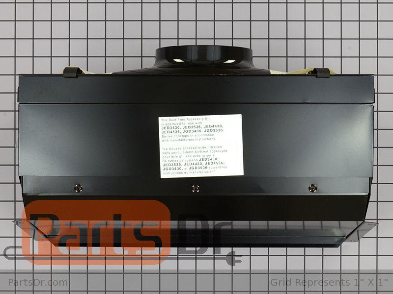 Range Oven Parts Duct Free Downdraft Kit