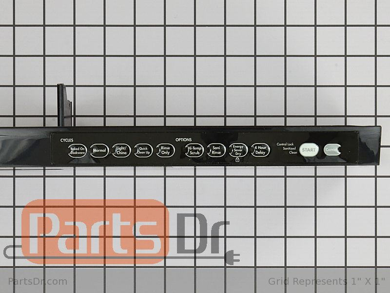 W10775980 Kitchenaid Control Panel Parts Dr