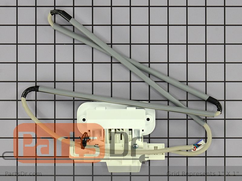 W10810403 Whirlpool Lid Lock Assembly White Parts Dr