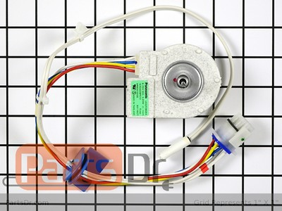 Ge fridge howling noise fan cycles on off for Ge refrigerator evaporator fan motor problems
