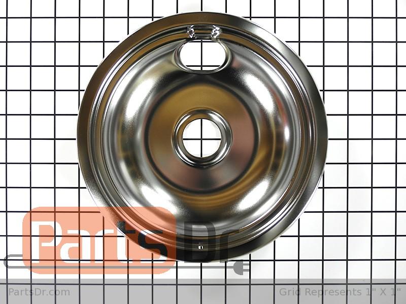 316048413 Frigidaire Range 8 Inch Drip Pan Parts Dr
