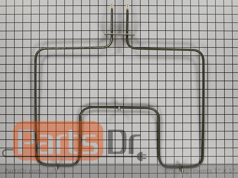 Frigidaire FES300DSB Range Compatible Oven Bake Heating Element for Frigidaire PLEB30T8CCB Frigidaire GLEB30T8CSA Frigidaire FCS388WHCD