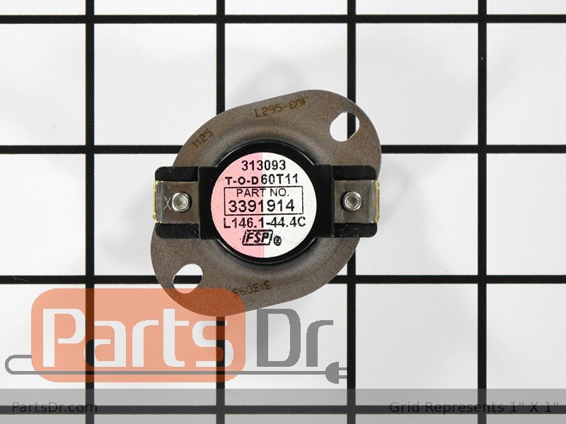 High Limit Thermostat WP3391914