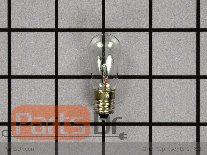5304421616 frigidaire refrigerator light bulb parts dr. Black Bedroom Furniture Sets. Home Design Ideas