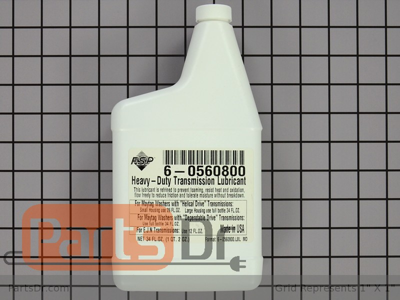 6 0560800 Maytag Transmission Oil Parts Dr