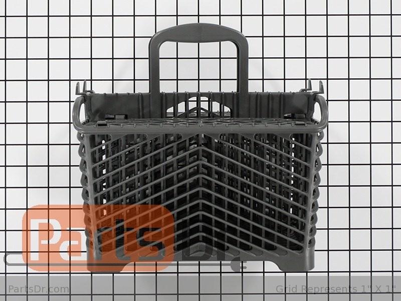 Dishwasher Silverware Basket W10187635 W10224675 99001751 6-918873 WP6-918873