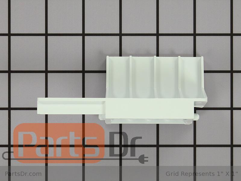 Genuine 8205451 Whirlpool Microwave Door Latch Bracket