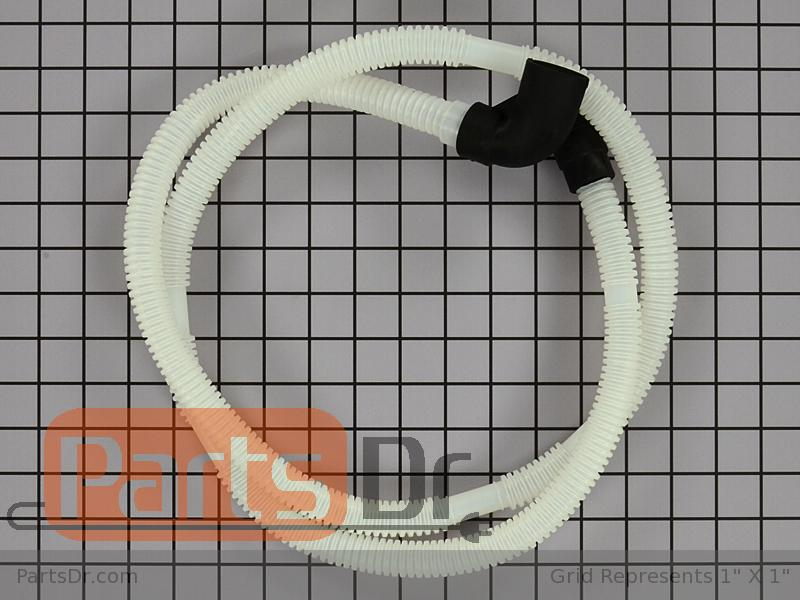 Wpw10358302 Whirlpool Drain Loop With Check Valve Parts Dr