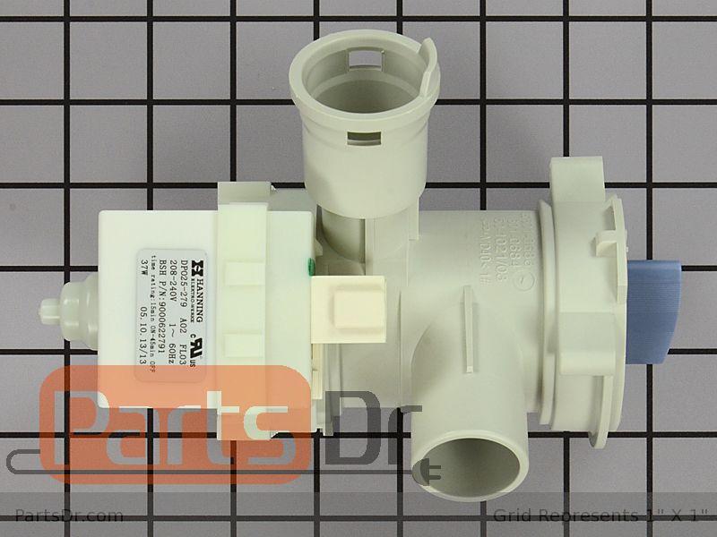 00145753 Bosch Washer Drain Pump Parts Dr