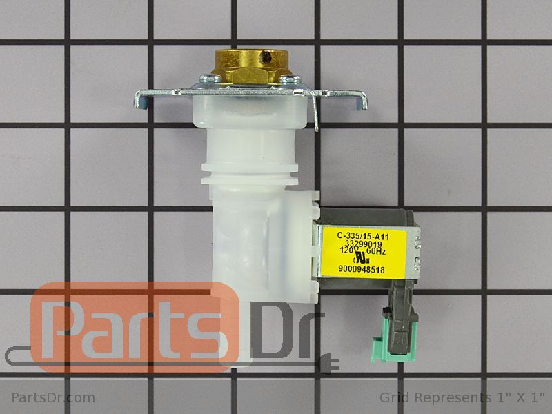 00633970 Bosch Dishwasher Water Inlet Valve Parts Dr
