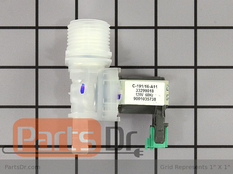 Replacement Inlet Valve For Bosch 00637572 AP6004797  PS11758440 By OEM Part MFR