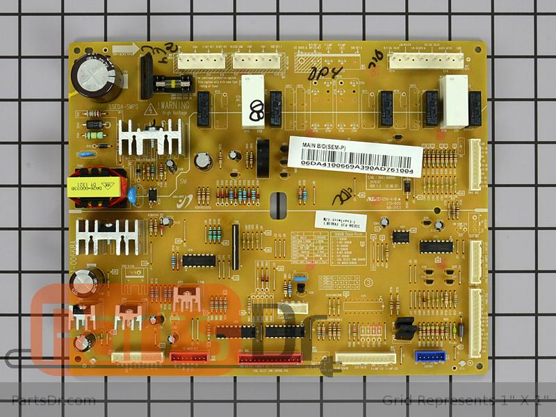 Da41 00669a Samsung Main Control Board Parts Dr