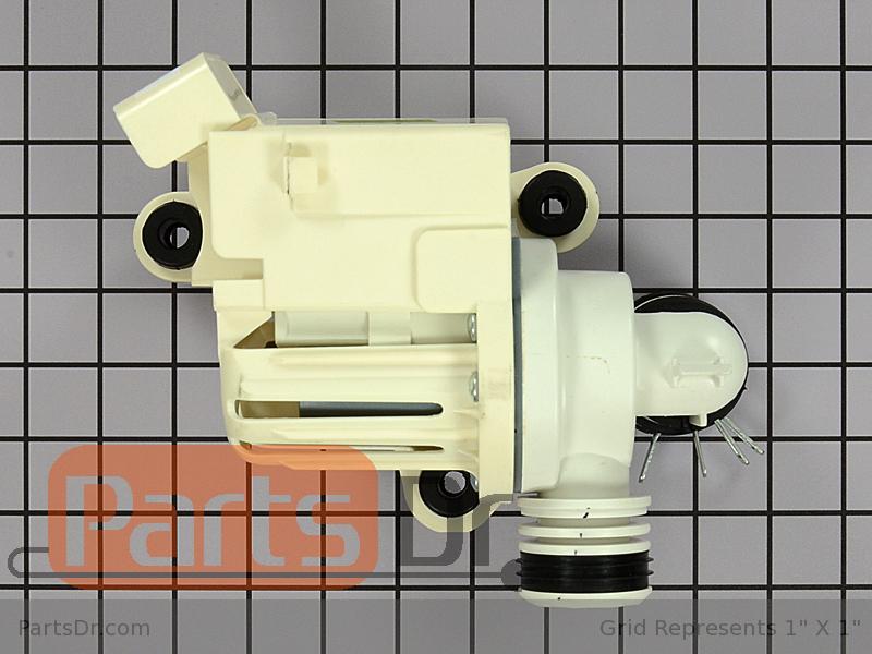 Dc97 16985a Samsung Drain Pump Assembly Parts Dr