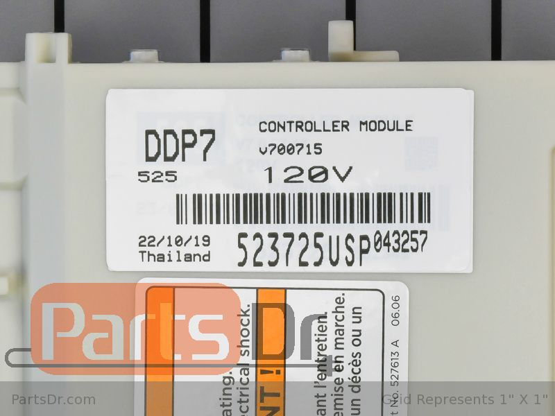 Fisher /& Paykel Dishwasher Control Board Part # 523725USP