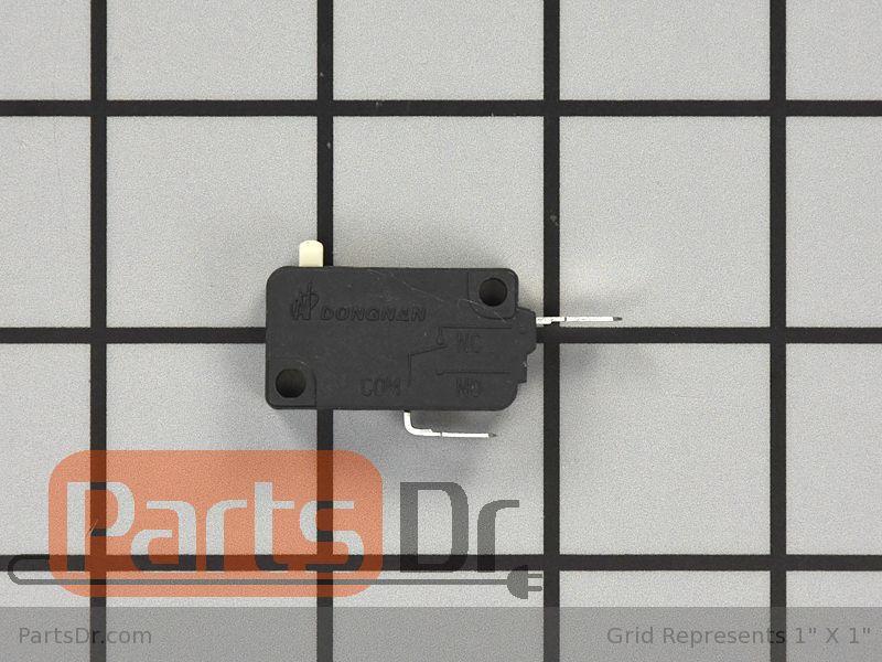 WB02K10245 GE Range Door Bracket OEM WB02K10245