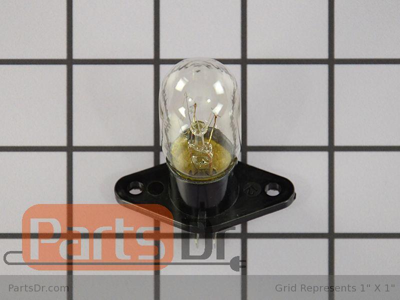 OEM GE Microwave Oven Light Bulb WB36X10303