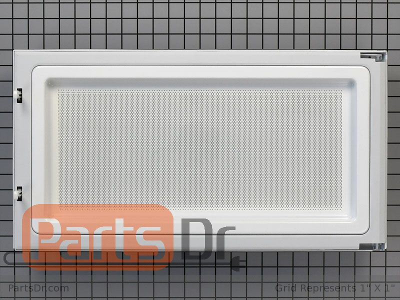 GE WB56X10270 Door Assembly for Microwave