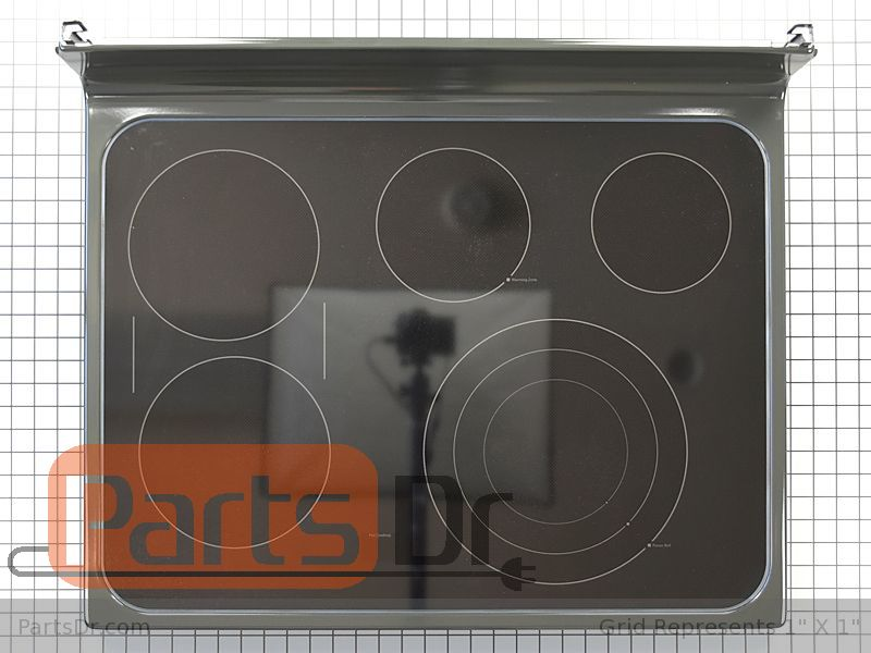 Wb62x22200 Ge Glass Cooktop Parts Dr, Ge Glass Top Range Burner Replacement