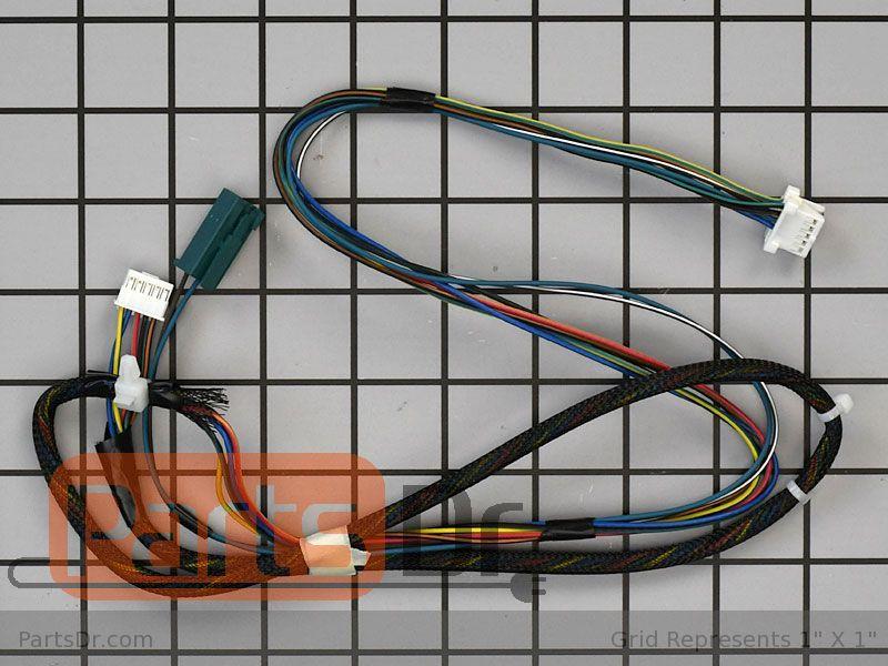WD21X21664 - GE Door Wiring Harness   Parts DrParts Dr